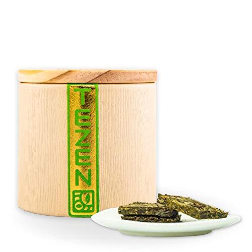 Sheng Pu Erh Mini Maocha (2016) Pu Erh Tee aus Yunnan, China   Hochwertiger chinesischer Sheng Pu-Erh Tee aus traditioneller Herstellung (80g)