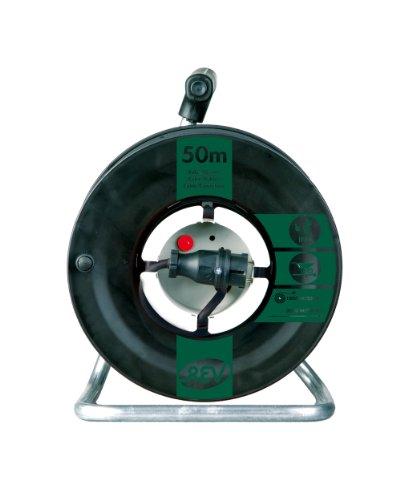 REV Ritter 0088549 Gerätetrommel 50 m H05RR Th, IP44, schwarz