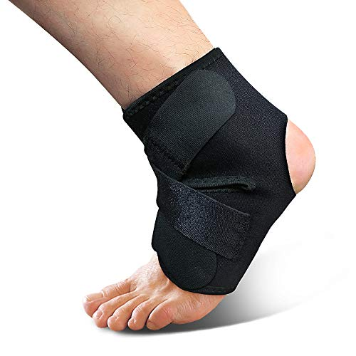 Ankle Brace - Adjustable Foot Support Wrap and Compression for Sprained Ankle – Ankle Stabilising Ligaments