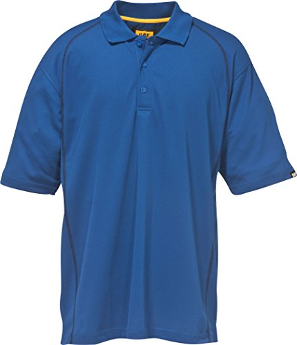 Caterpillar Cat Polo Advanced, Blau, Größe XXL