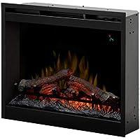 EWT DF2624L EU Interior Log Insert Fireplace Eléctrico Negro - Chimenea (690 mm, 230 mm, 600 mm, 17,5 kg, 800 mm, 380 mm)