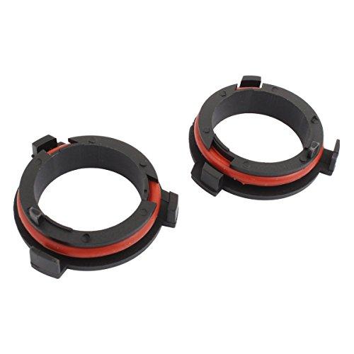 TOMALL H7 Retenedores de adaptador de soporte de faro para automóvil