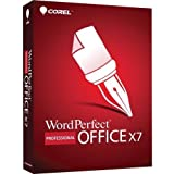 Corel WPOX7PRENDVDUG WordPerfect Office X7 Professional Edition - Upgrade Package - 1 User - Office Suite - Standard Retail - PC - English