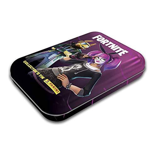 Panini Fortnite Black Frame Series Sticker Collection Pocket Tin