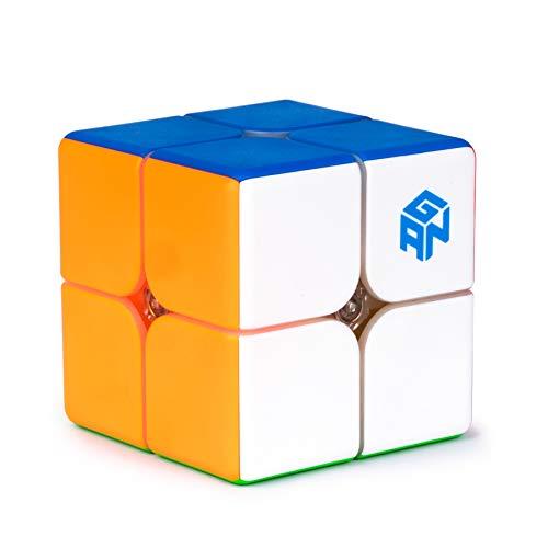 GAN 249 V2, 2x2 Cubo velocità Mini Cube Giocattolo Puzzle 2x2x2 Magico cubo 49mm Stickerless Senza Adesivo Regalo