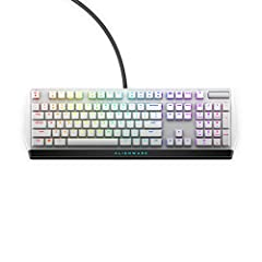Featuring the latest generation low-profile Cherry MX keys for better control with quick and smooth triggering Fully customizable with AlienFX per-key RGB lighting which allows you to choose from up to 16 8 million colors per Key Slim profile for enh...