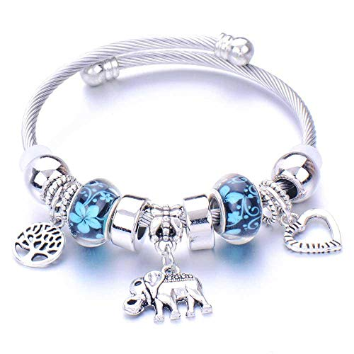 Pulseras Brazalete Joyería Mujer Pulsera Charms Pulseras para Mujeres Crystal Beads Fine Bracelets Women Jewelry-15