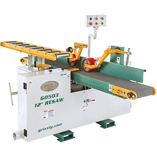 Buy Grizzly Industrial G0503-12 20 HP 3-Phase Horizontal Resaw Bandsaw