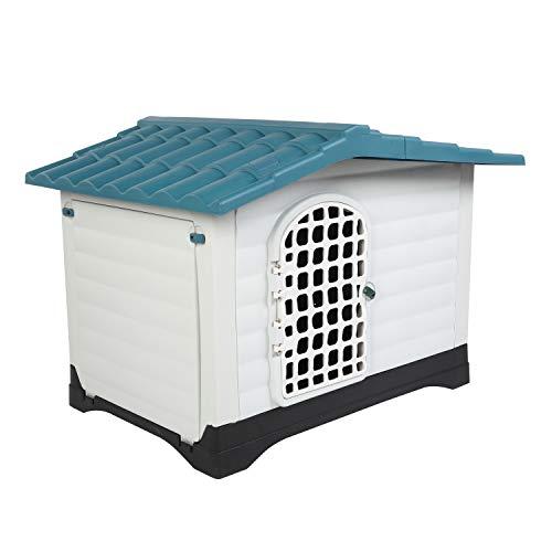 Bonnlo Plastic Outdoor Dog House