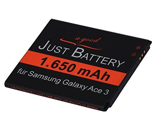 JuBaTec original Akku für Samsung Galaxy Trend Lite GT-s7390 mit 1650 mAh ersetzt EB-B100AE