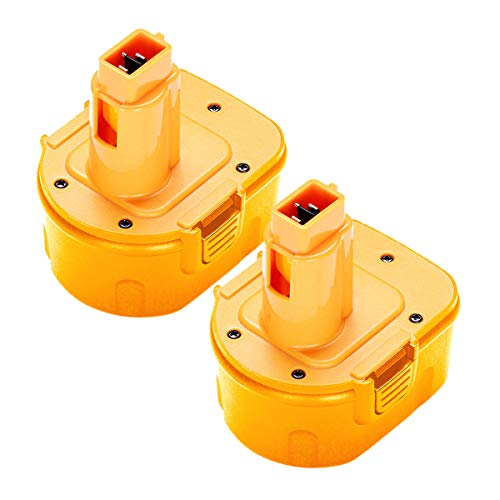 2Pack 12V 3.6Ah DW9071 Replacement for DeWalt 12V XRP Battery DW9071 DC9072 DE9037 DE9071 DE9072 DE9074 DE9075 Compatible with DeWalt 12-Volt Ni-Hh Batteries