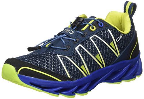 CMP – F.lli Campagnolo Kids Altak Trail Shoe 2.0, Scarpe Running Unisex-Bambini, Multicolore Cosmo Limeade 12ne, 38 EU