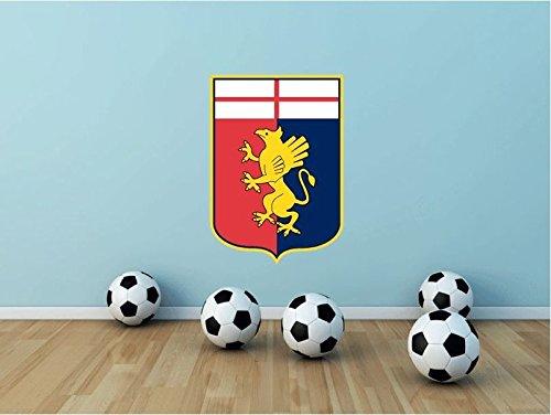 lunaprint Genoa CFC Italy Soccer Football Sport Home Decor Art Wall Vinyl Sticker 63 x 43 cm