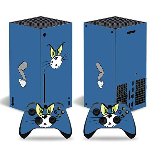 YIBAO Adesivi per Xbox Serie X Stickers, Console Xbox Serie X E 2 Controller Adesivi.Vinile,Facile da Usare, Materiale Satinato, Nessun Residuo di Colla, Nessun Danno alla Superficie Xbox.