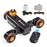 TARION Y5D Autodolly Electric Slider Motorized Pulley Car Cine Dollies Rolling Skater with...