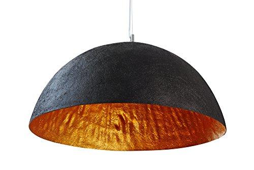 Invicta Interior Glow Stylische Hängeleuchte schwarz gold 70cm