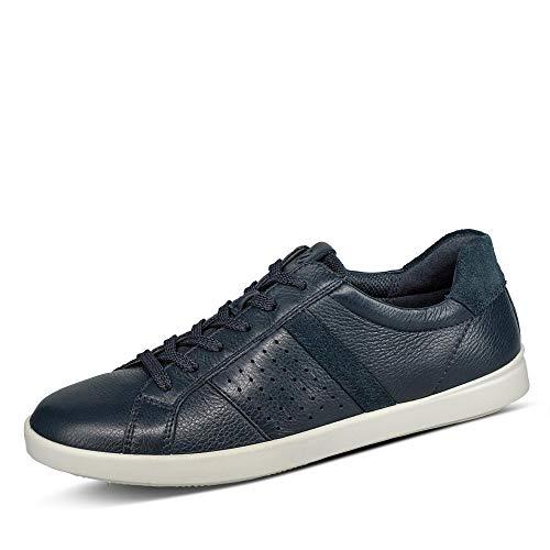 Ecco Damen LEISURE Sneaker, Blau (Marine/Marine 50595), 37 EU