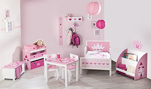 roba 450518D332 Spielzeugtruhe Krone, rosa - 3