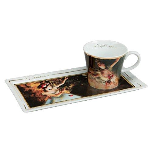 Goebel Tänzerinnen Kaffee Set, Porzellan, bunt, 24 x 12 x 8 cm