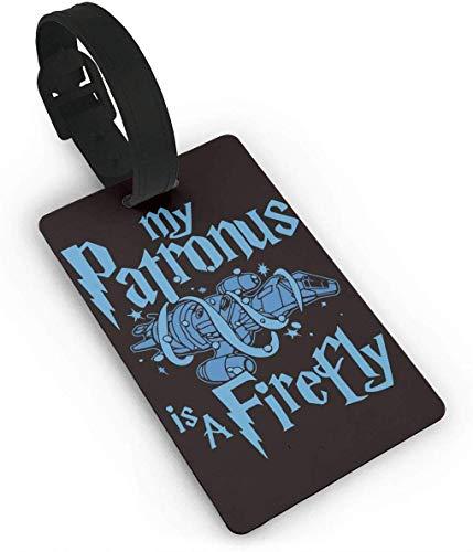 My Patronus is A Firefly - Etiquetas de plástico para Maleta de Viaje (PVC)