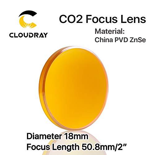 CO2 Laser Focus Lens China PVD ZnSe Dia 18mm FL50.8