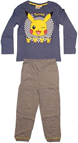 Unbekannt - Pijama Dos Piezas - para niño Azul Oscuro 104 cm
