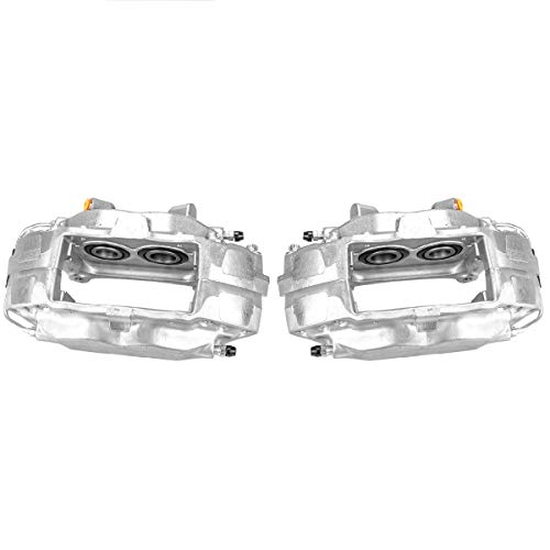 Callahan CCK04786 [2] FRONT Premium Semi-Loaded Original Brake Calipers + Clips [fit Ford Mustang SHELBY Base GT S197] Illinois