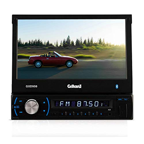 Gelhard GXD950 RDS-Autoradio mit 17,8 cm LCD TFT-Monitor USB SD MP3 Bluetooth