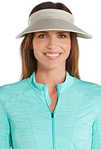 Coolibar Coolibar Damen UV-Schutz Sonnekappe, Beige, OneSize