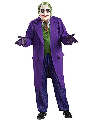 Générique Déguisement Luxe Joker Dark Knight Adulte Taille M