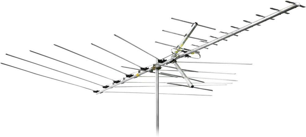 Channel Master Advantage 60 Directional Outdoor TV Antenna - Long Range FM, VHF, UHF and Digital HDTV Aerial - CM-3018