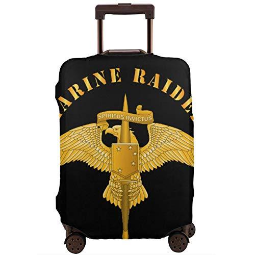 Fundas para Maletas Marsoc Raider Badge Protector de Maleta de Viaje Funda de Maleta con Cremallera Cubierta de impresión de Moda Lavable por valija Protector de Maleta de Viaje