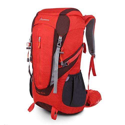 Mountaintop Zaini Trekking Impermeabili Zaino Casual E Copertine 40L