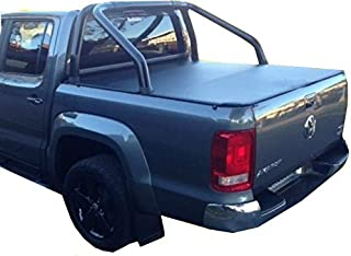 Volkswagen Amarok Dual Cab Clip On Soft Tonneau Cover Fits Sports Bar