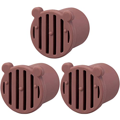 コモライフ 防虫ドレンキャップ3個組 エアコン 虫 侵入 防止 ドレンホース 詰まり
