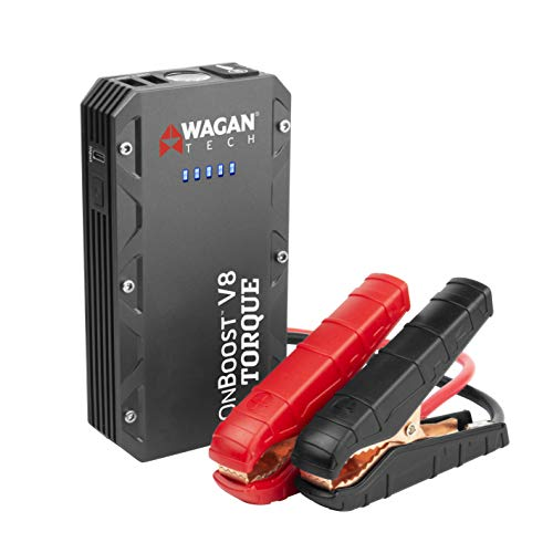 Find Cheap Wagan EL7505 Jump Starter Torque 800Amp Peak 12V Portable Lithium Car Battery Up to 6.0L ...
