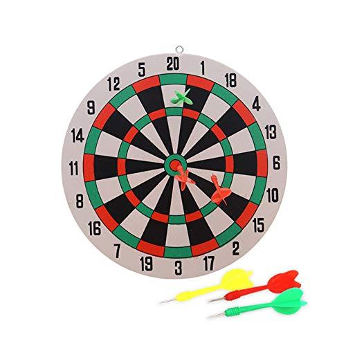 Dartscheibe Set, 29,5 Cm Dartboard Erwachsene Kinder Indoor Magnetic Dart Brettspiel Mit 3 Sicherheits Darts, Dart Wurf Spiel Scheibe Für Groß Und Klein