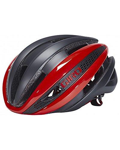 Giro Helmet Synthe Red Mat Black - Schwarz, S