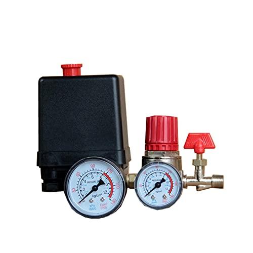 Fangaichen Pressure Switch Air Valve Manifold Compressor Control Regulator Gauges Inflators Auto Parts Maintenance suitable for car
