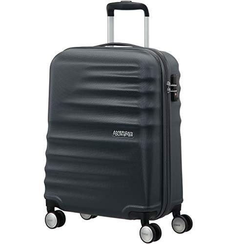 American Tourister Wavebreaker Spinner 55/20 Bagaglio a Mano, Nightshade, 36 ml, 55 cm