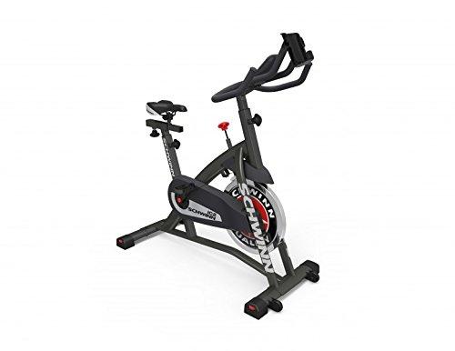 Schwinn IC2i Indoor Cycle, Unisex-Adult, Nero/Rosso/Grigio, Taglia Unica