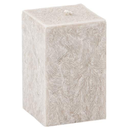10 x 7 x 7 cm qudratische Bougie Aroma Bougie parfumée indien soie
