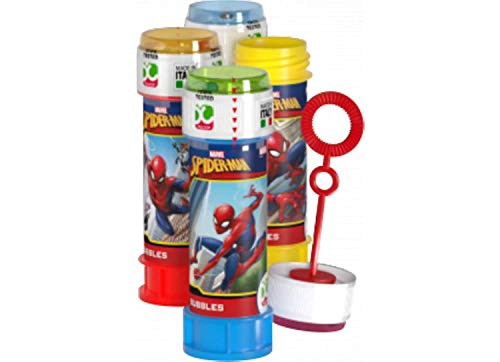 Marvel Spiderman Bubbles 60ml Tubs -Party Sac Stocking Fillers