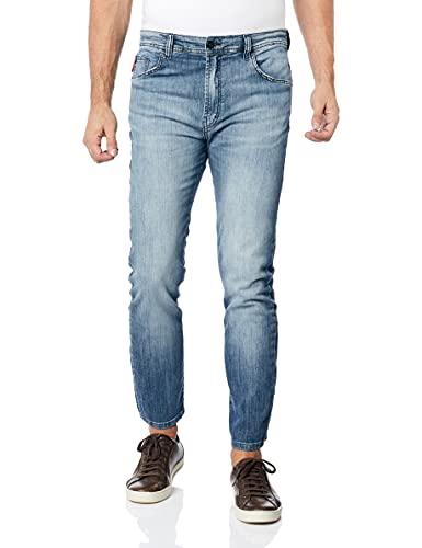 Calça Jeans High Comfort Flex, Ellus, Masculino, Lavagem média, 42