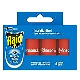 Raid (Paral) Fliegen-Fänger Classic, Klebefalle, Schutz vor fliegenden Insekten, 1er Pack (1 x 4 Stück)