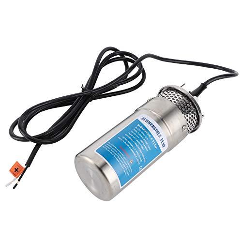 Bomba de Transferencia de Agua, Flujo de 8. 0 lpm / 2,1 gpm, Carcasa anticorrosión, Bomba de Agua Solar Duradera, Uso de riego para el racionamiento de estanques de Agua para Ganado