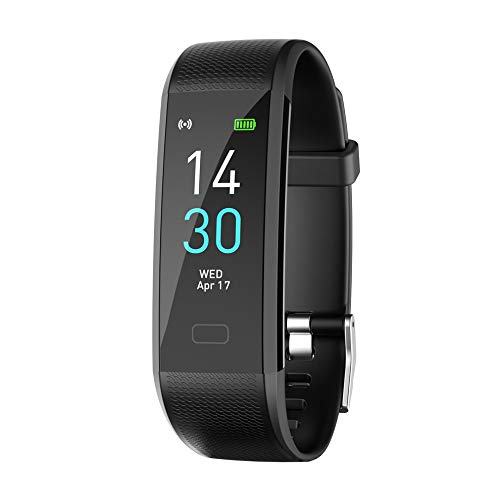 Y1 Smart Band Pulsera Monitor de Ritmo Cardíaco Hombres Mujeres Fitness Reloj Podómetro Pantalla Color Pulsera Inteligente