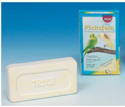 Trixie 5111 Pickstein mit Spirulina für Wellensittiche, Kanarien