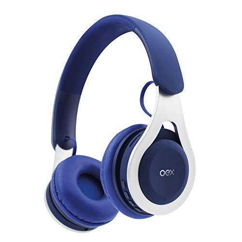 Hs306 Headset Drop Azul e Prata, Oex