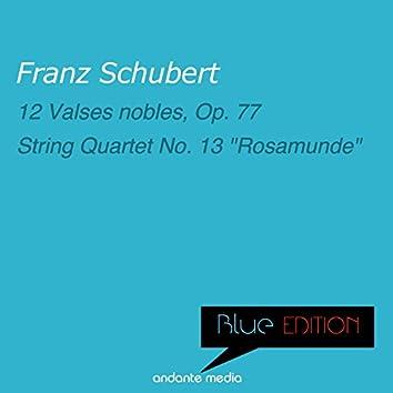Blue Edition - Schubert: 12 Valses nobles, Op. 77, D. 969